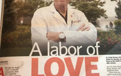 Frank Bonura, MD, Featured in Newsday's Act2 9.23.18